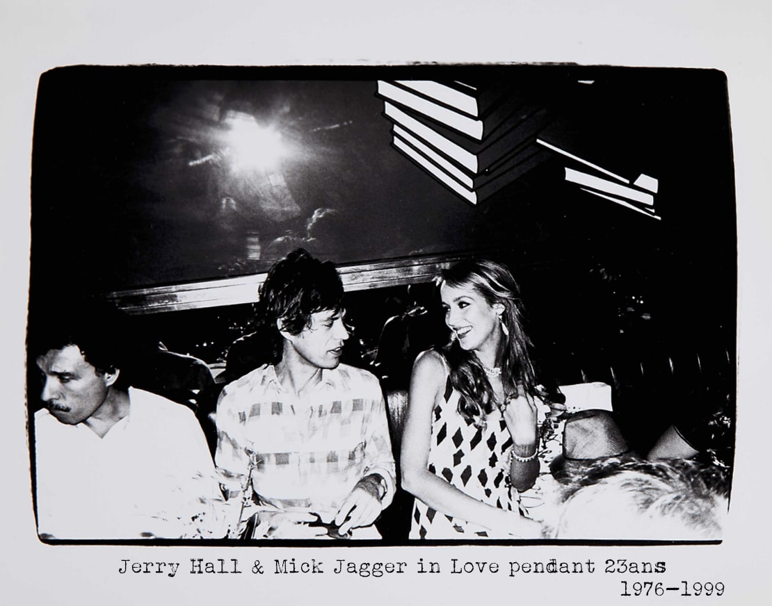 Mick jagger et jerry hall- couple mythique
