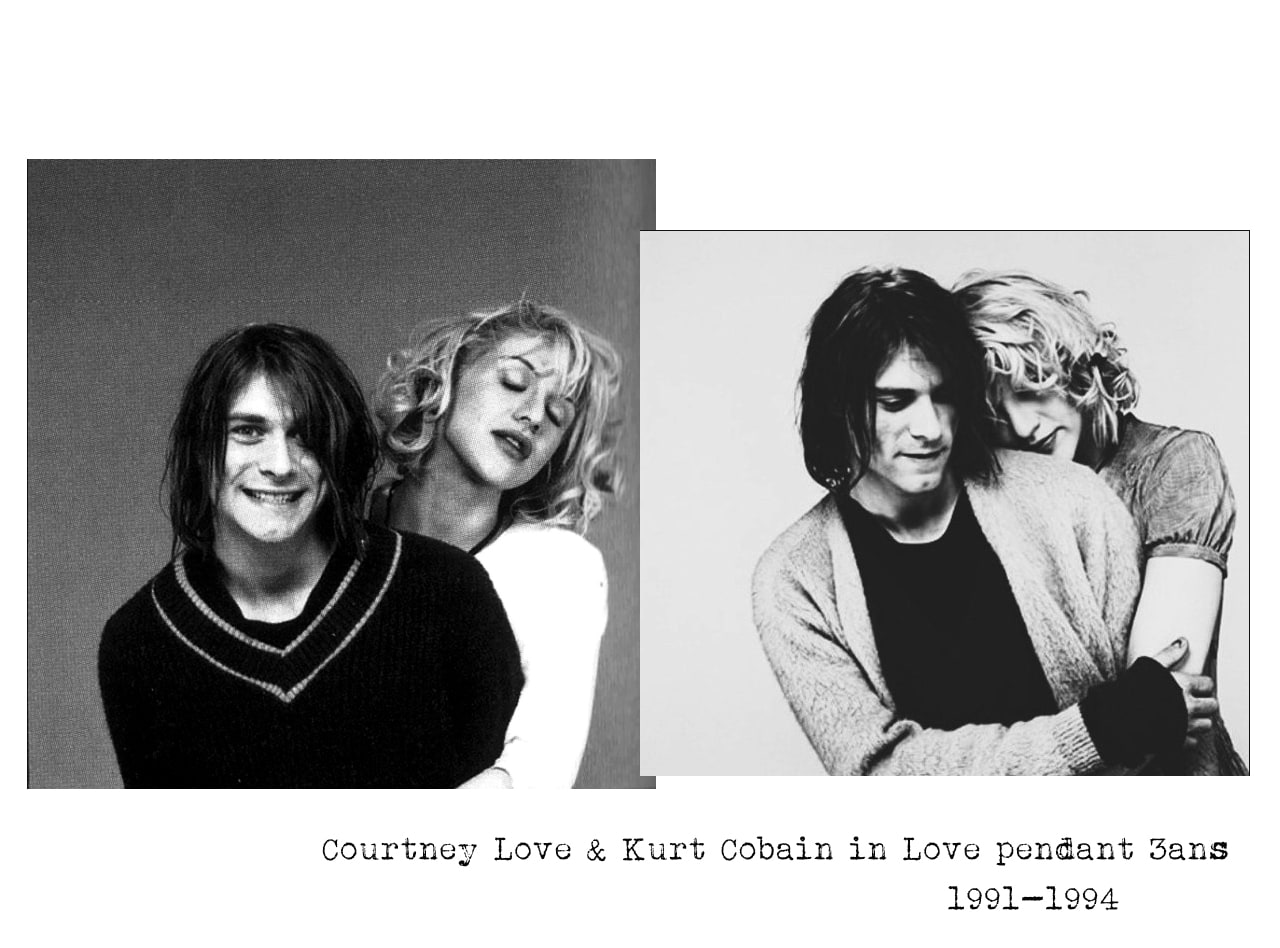 couple mythique- Kurt Cobain et Courtney Love