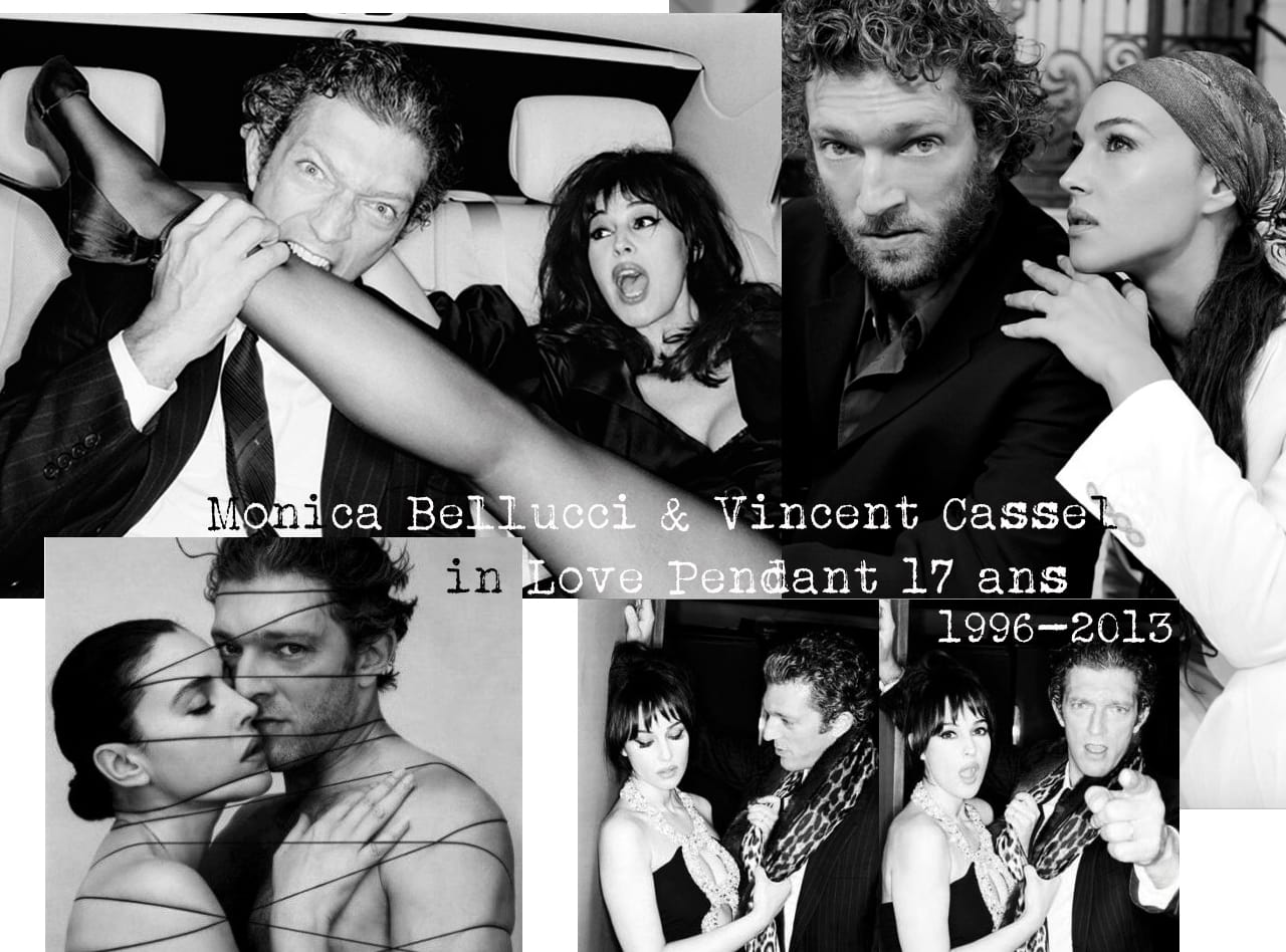 Monica bellucci et vincent cassel couple