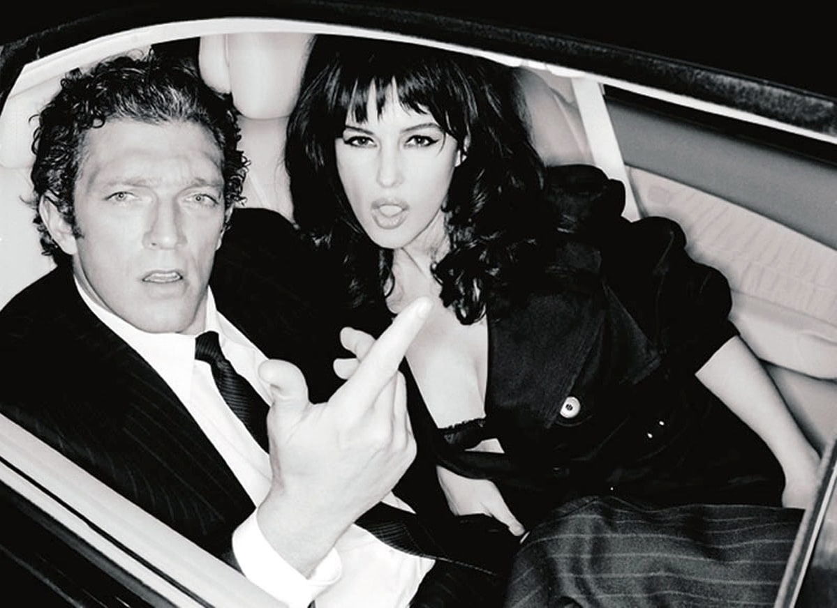 Monica bellucci et Vincent cassel- couple mythique