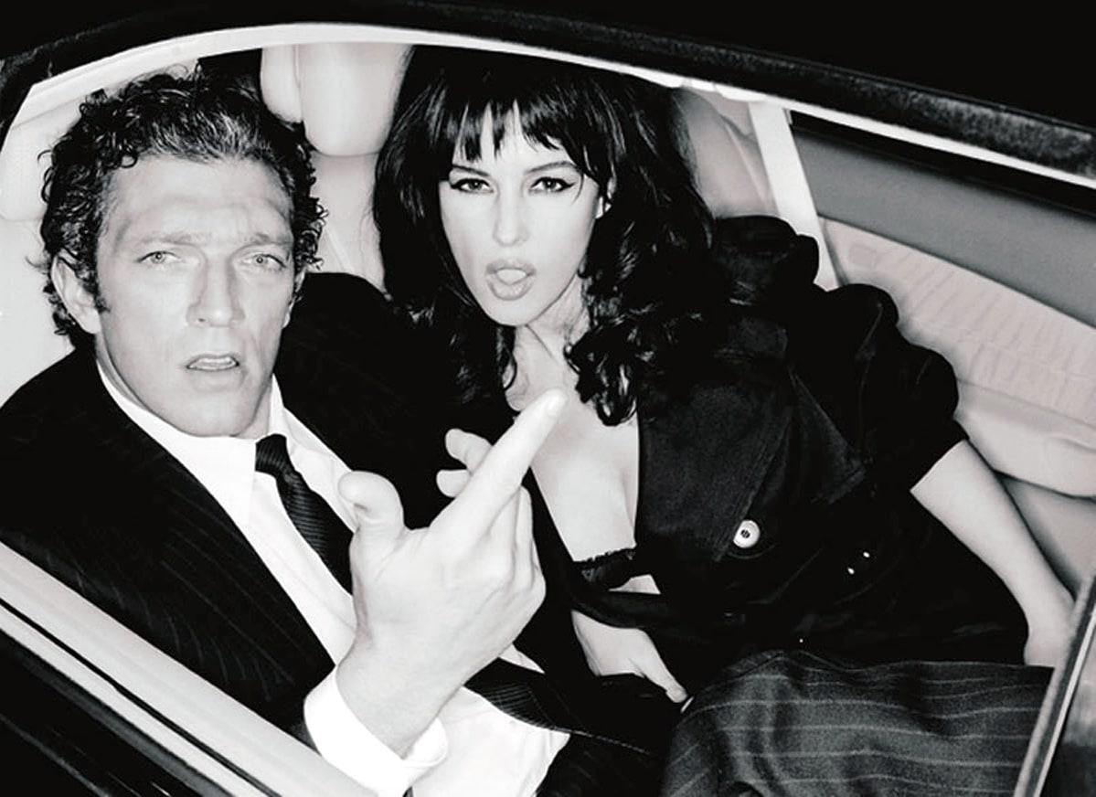 Monica bellucci et Vincent cassel- couple mythique