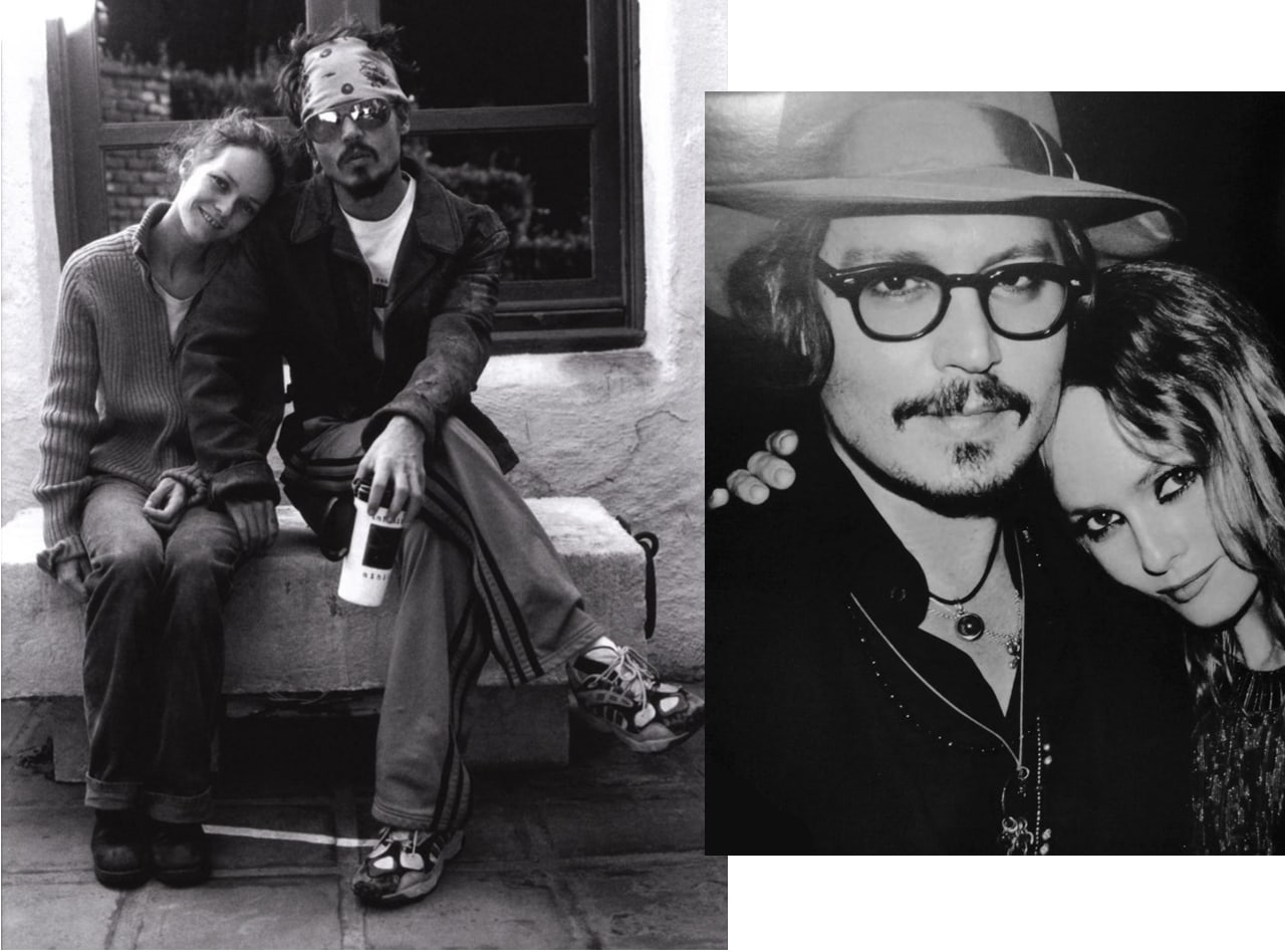 Johnny depp et vanessa paradis-couple mythique