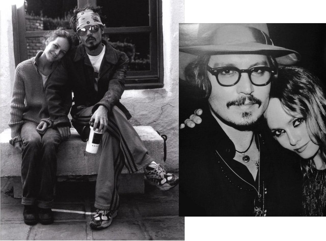 Johnny depp et vanessa paradis-couple mythique