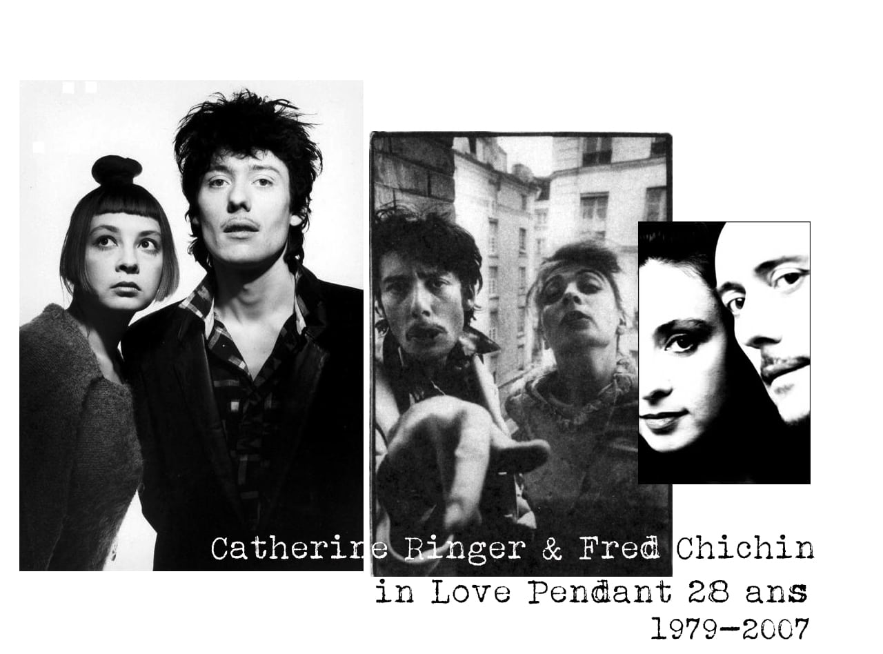 Catherine Ringer et Fred Chichin- couple mythique