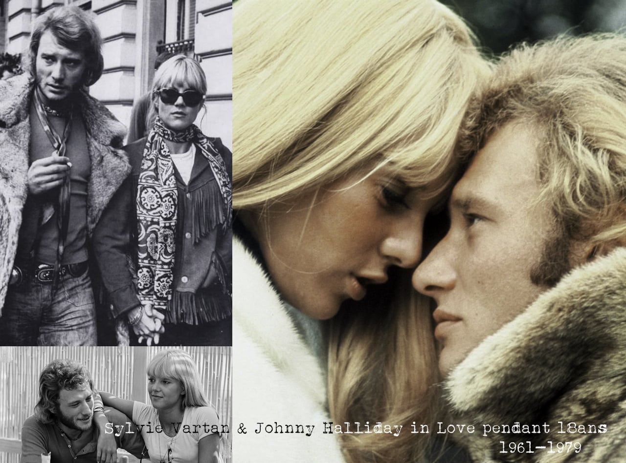 couple iconique-johnny hallidays & sylvie vartan