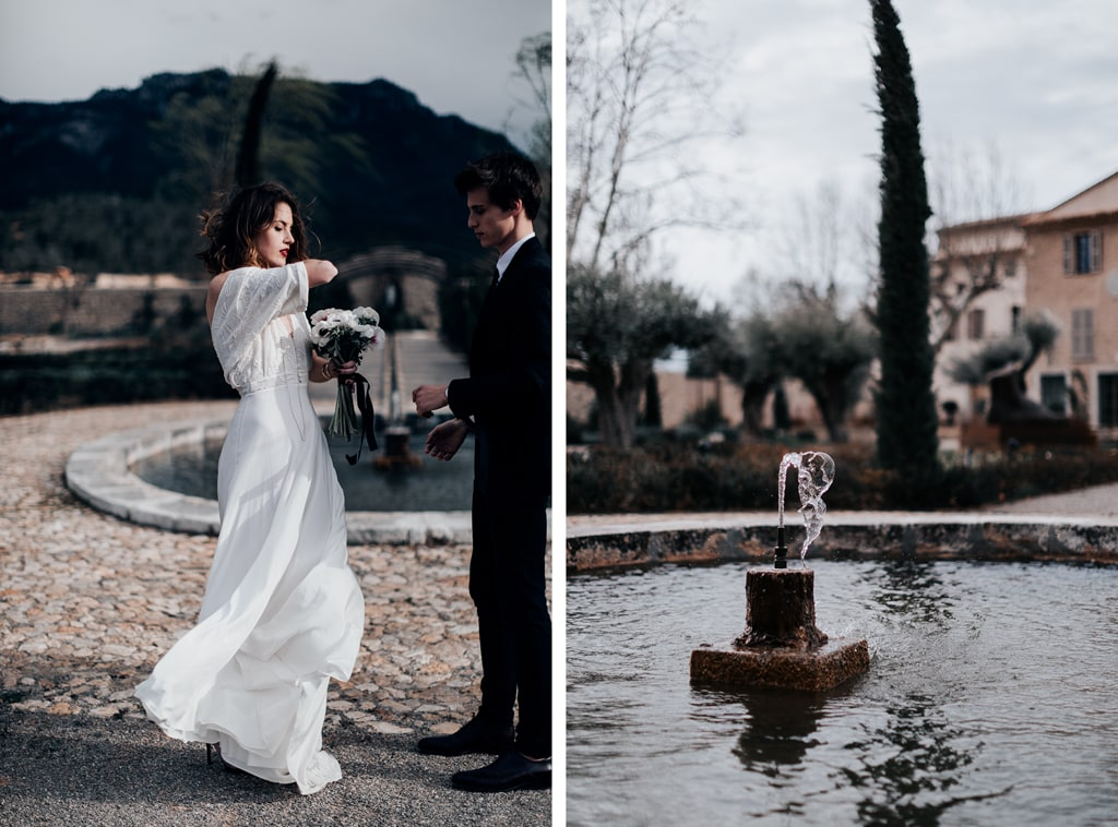 The couple-mariage Glamour-Bastide saint julien-DelphinaCphotographie