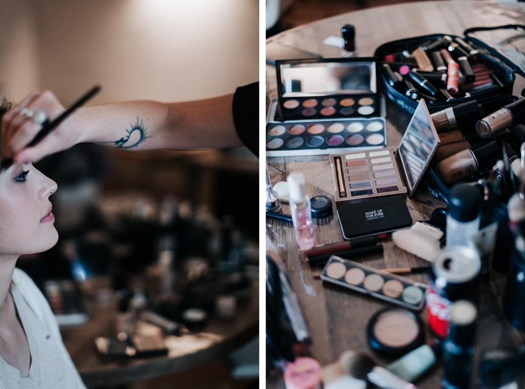 Make up Delphine Ruffini-mariage Glamour-Bastide saint julien-DelphinaCphotographie