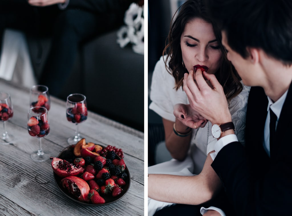Fraises-The couple-Bastide saint julien-DelphinaCphotographie