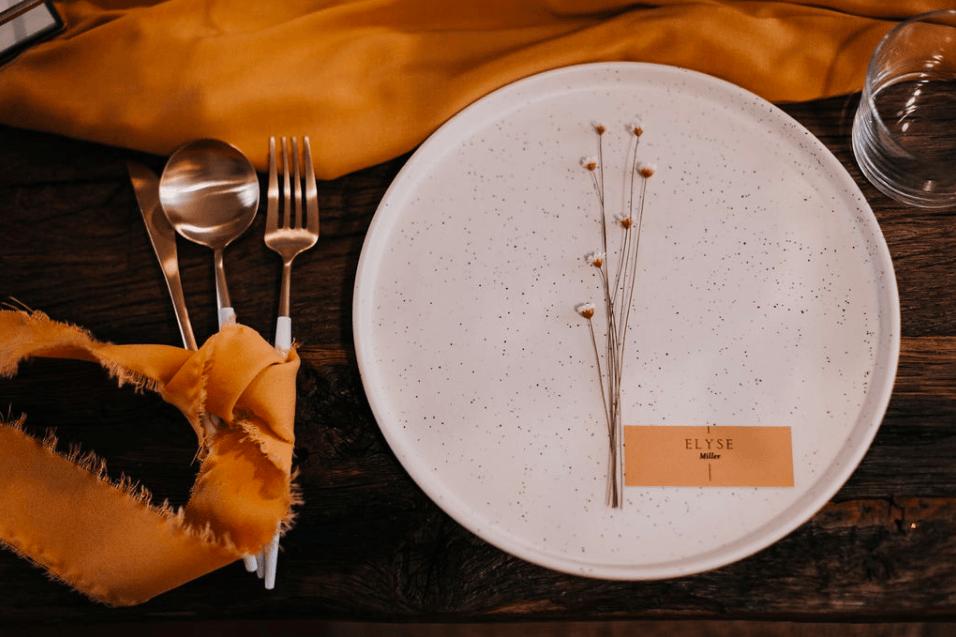 assiette céramique la noce