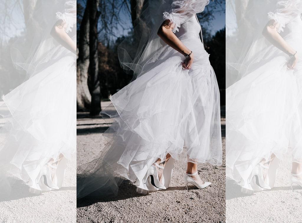 Robe de mariée vintage écologie et deuxième main
