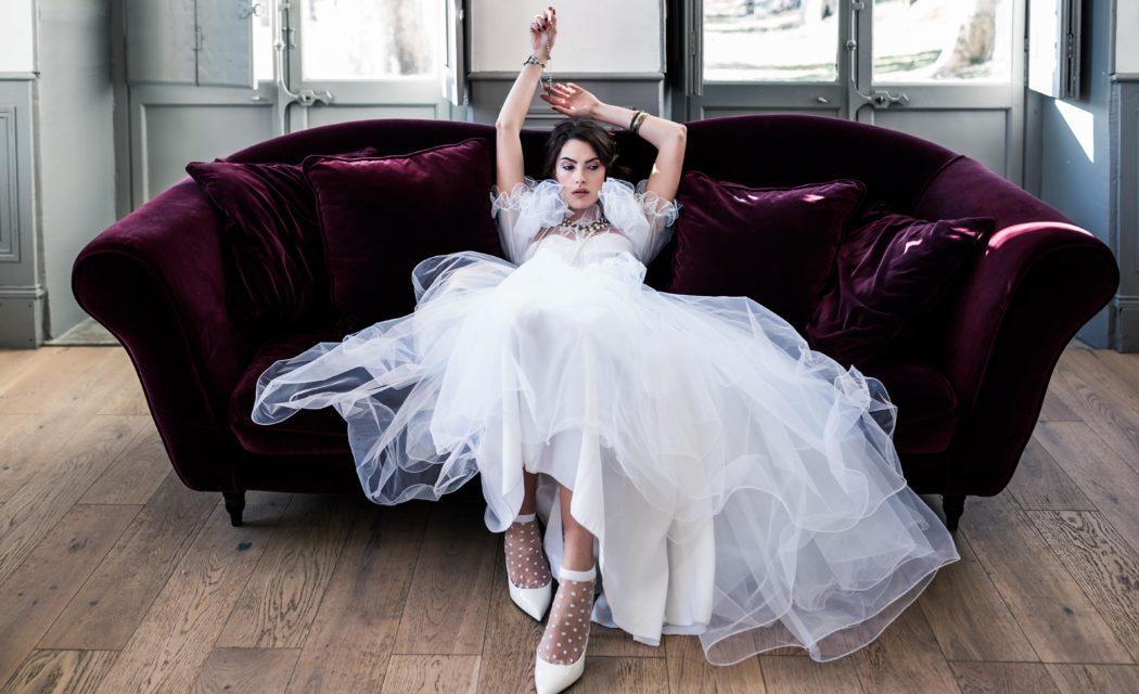 Robe de mariée Madonna année 8O