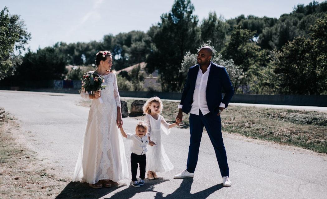 mariage décontracté en provence