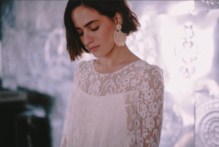 Créatrices de robe de mariée Bohème chic-Christina Sfez-Blog mariage Delphine Closse