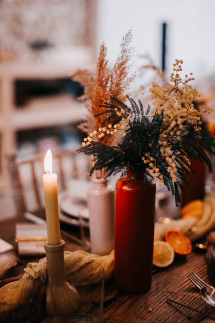 Décoration florales table de mariage-Festival de mariage la noce-Delphine Closse photographe