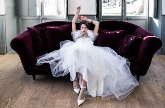 Robe de mariée éco-responsable-inspiration Madonna-Delphine Closse