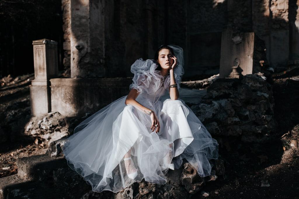 robe de mariée éco-responsable -inspiration Madonna - Bastide de Toursainte- blog photographe Delphine Closse