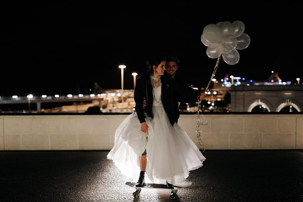robe de mariée éco-responsable-Marseille-skate-Delphine Closse photographe
