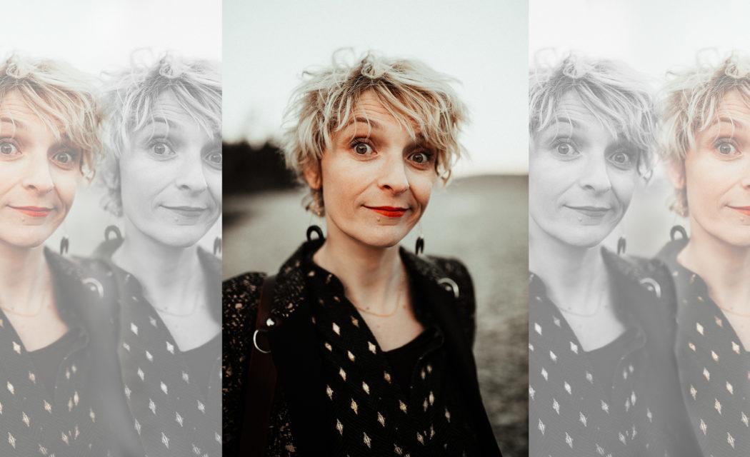 portrait Delphine Closse photographe by Charly circle box