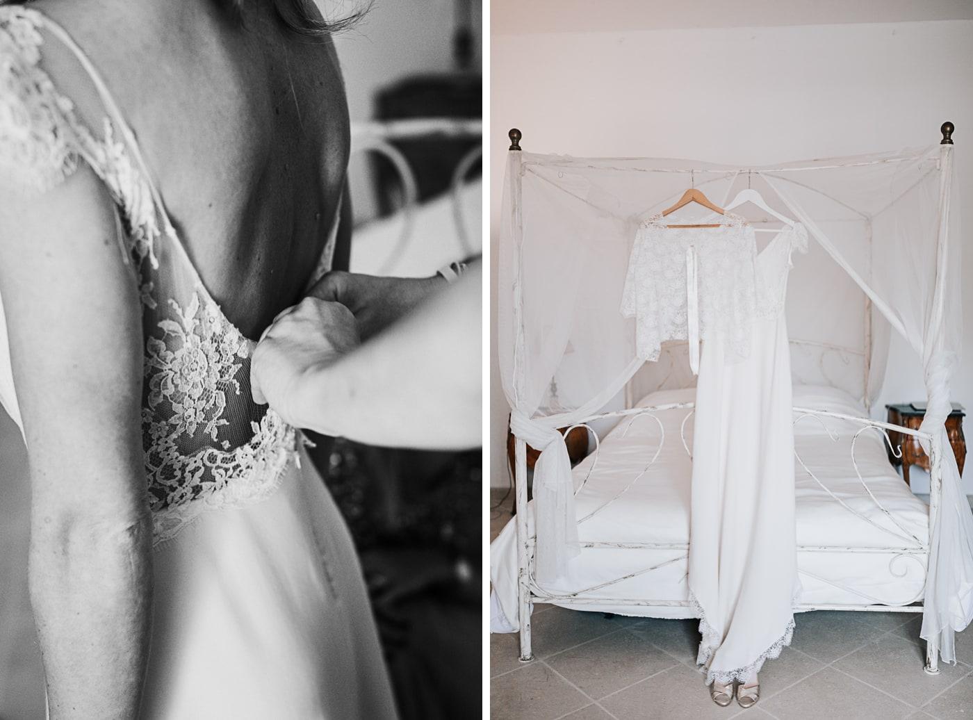 Préparatifs de la mariée au chateau du Griffon-Delphine Closse