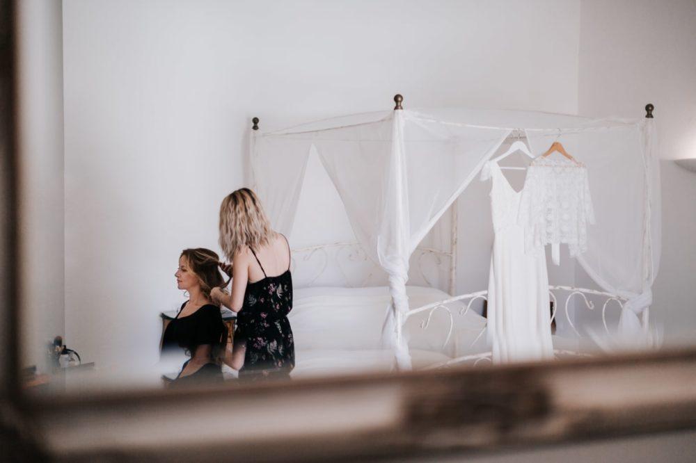 préparatifs de mariage au chateau du Griffon-Delphine Closse