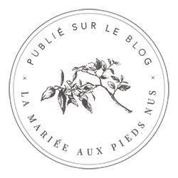 Blog mariage français la mariée au pied nu