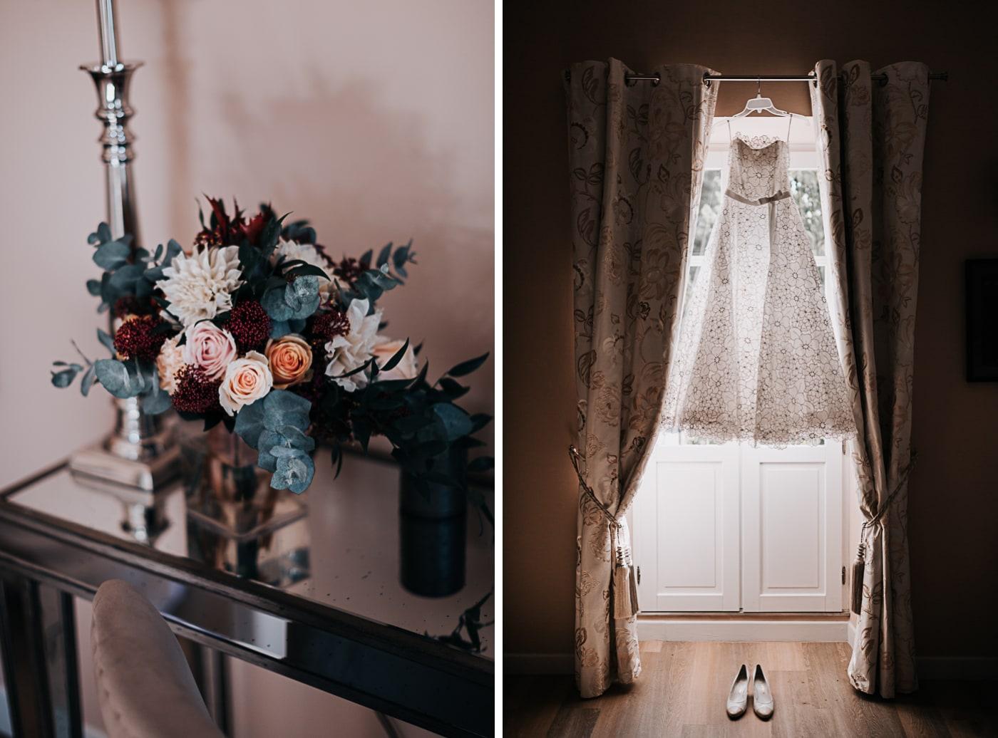 Bouquet l'arrosoir de Margaux - robe de mariée Cimbeline