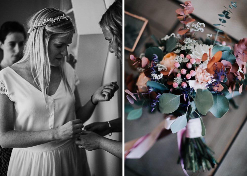 bouquet de mariée Virginie D'Alessio-mariage Cadière D'Azur- Domaine de Rochebelle #freeloverock-Delphine Closse