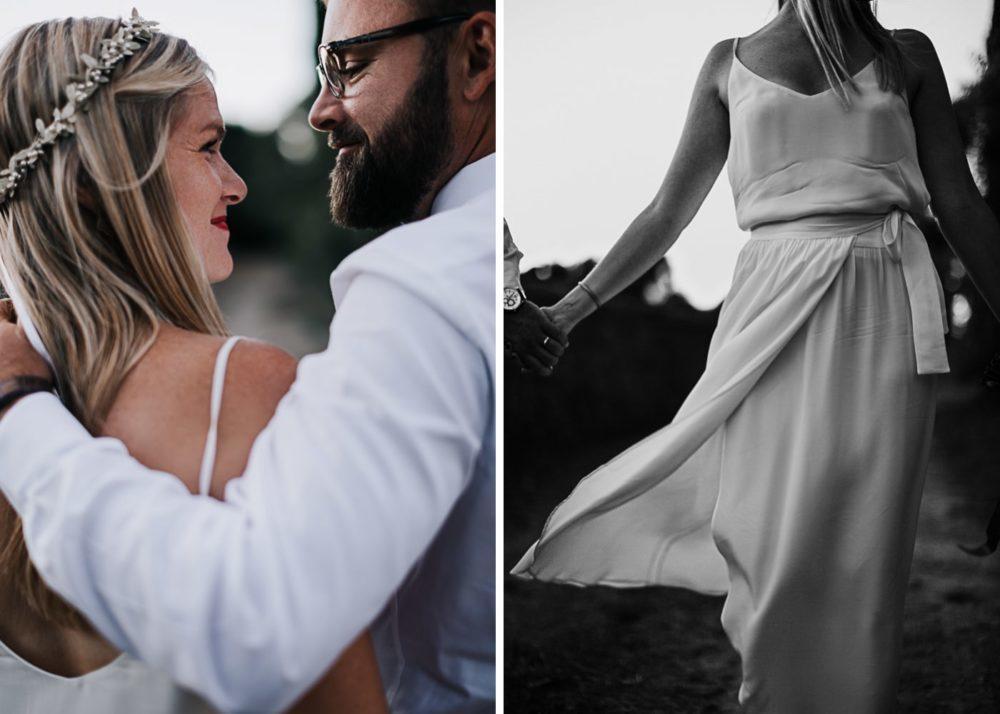 Robe de mariée Camille Marguet-mariage Cadière D'Azur- Domaine de Rochebelle #freeloverock-Delphine Closse