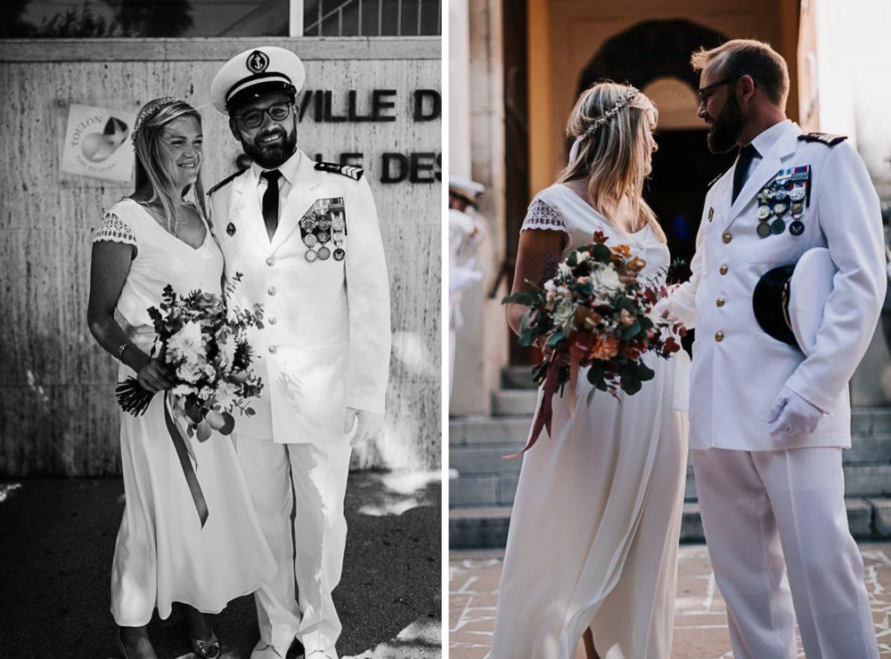 Mariage civil-ortie mairie de Toulon-Delphine Closse