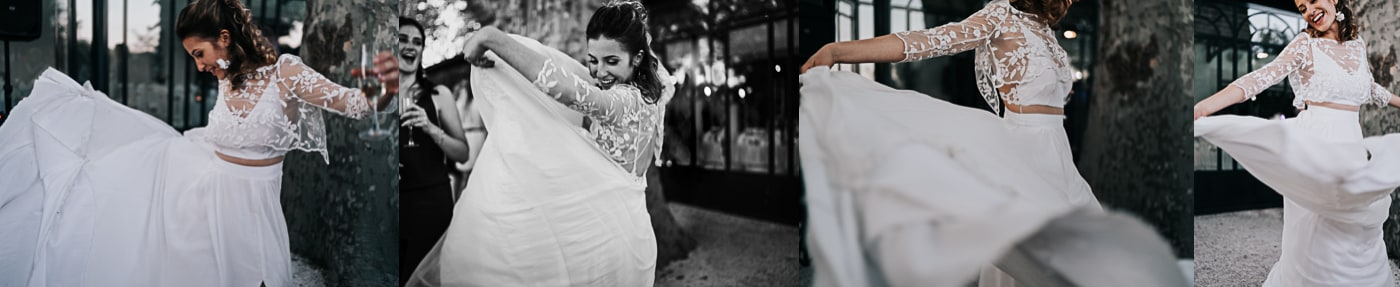 Robe de mariée Lie Dil Aix en Provence-Delphine Closse
