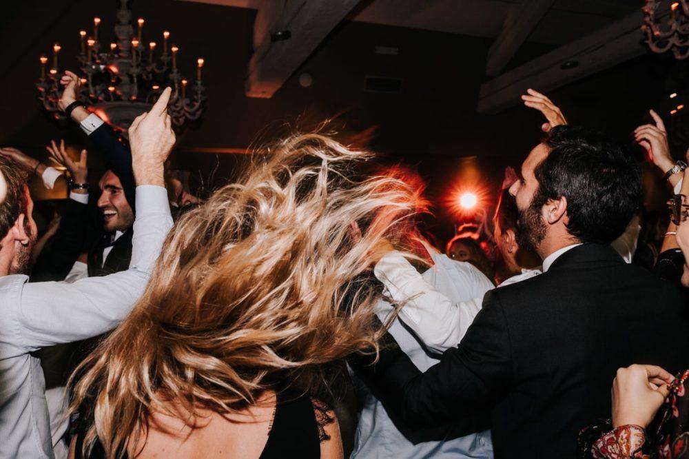 Dance floor-Mariage au château Latour Vaucros-Delphine Closse