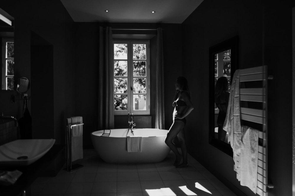 Grande salle de bain-Mariage au château Latour Vaucros-Delphine Closse