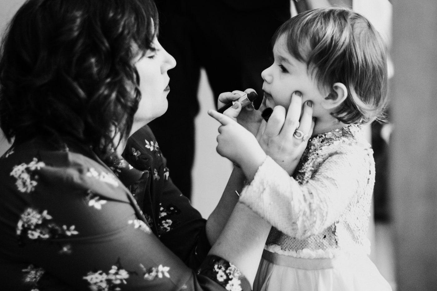 Maquillage demoiselle d'honneur pour un Mariage au château Latour Vaucros-Delphine Closse