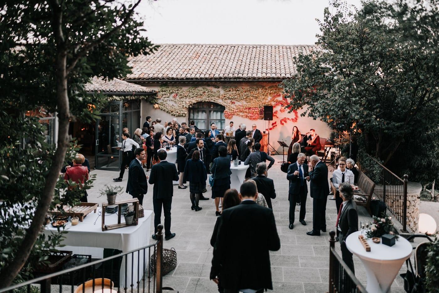 Cocktail-Mariage au château Latour Vaucros-Delphine Closse