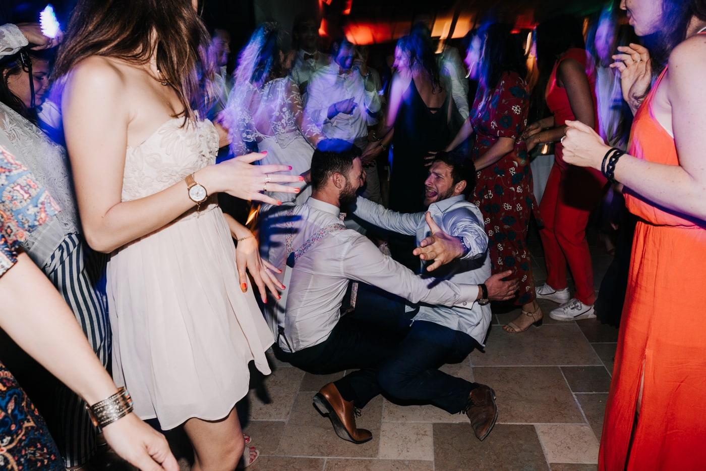 dance floor-marriage au domaine de la Baratone-Delphine