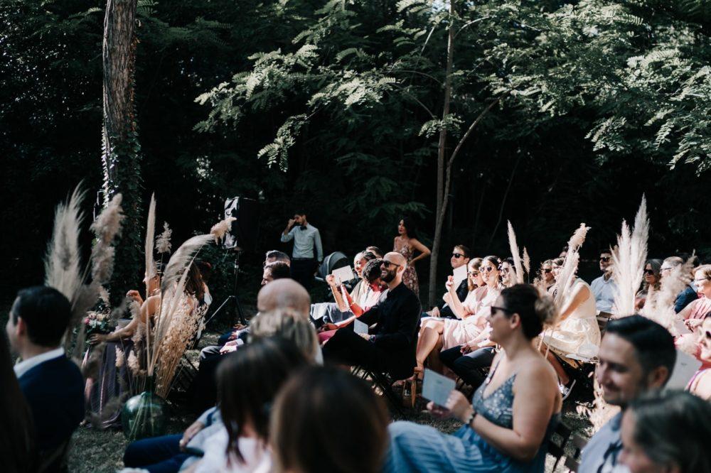 cérémonie laique bohème gypsy-Mariage bohème au domaine du taleur-Avignon-Delphine Closse