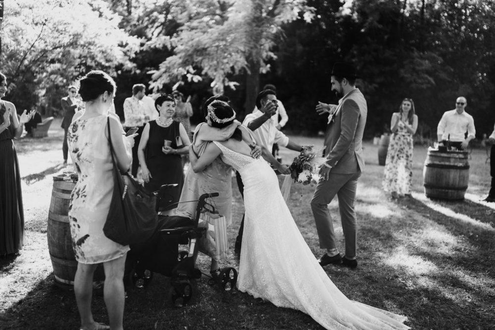 Félicitations-Mariage bohème au domaine du taleur-Avignon-Delphine Closse