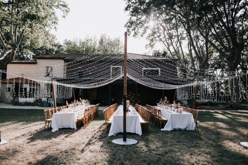 Décoration table- jadis Fleur-Le Bazar de Véronique-Chloe Tresdoi-AKF Event--Mariage bohème au domaine du taleur-Avignon-Delphine Closse