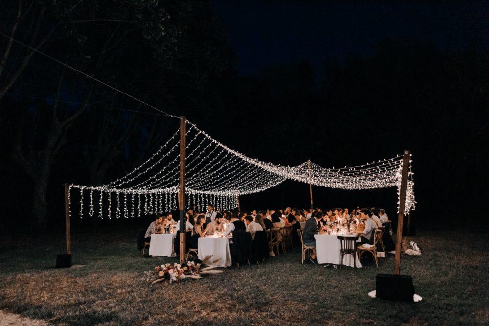 Diner-AKF Event-Mariage bohème au domaine du taleur-Avignon-Delphine Closse