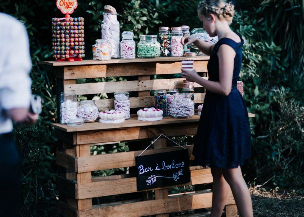 Bar à Bonbons-mariage Cadière D'Azur- Domaine de Rochebelle #freeloverock-Delphine Closse
