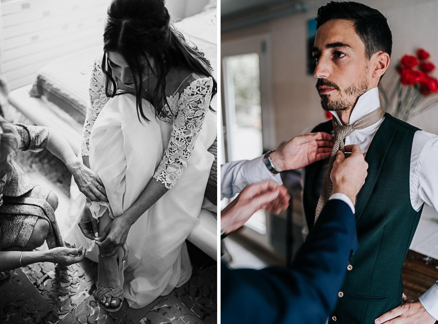 Préparatif de mariés-Mariage Sophie&Paul-Domaine du Taleur-Delphine Closse