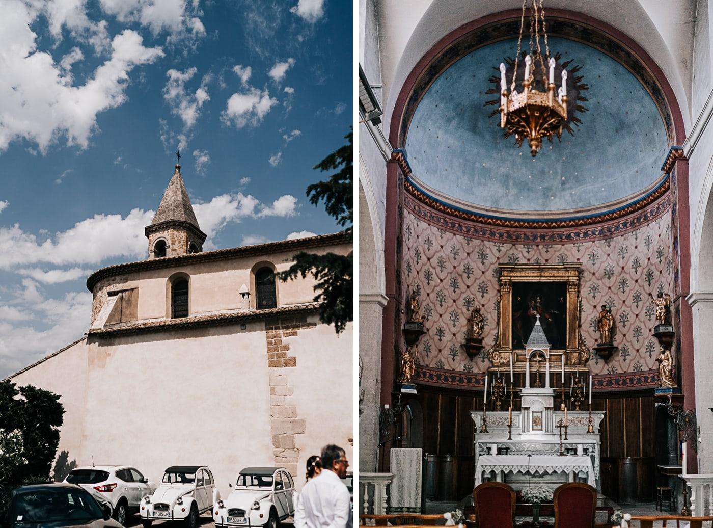 Eglise jonquerette-Mariage Sophie&Paul-Domaine du Taleur-Delphine Closse