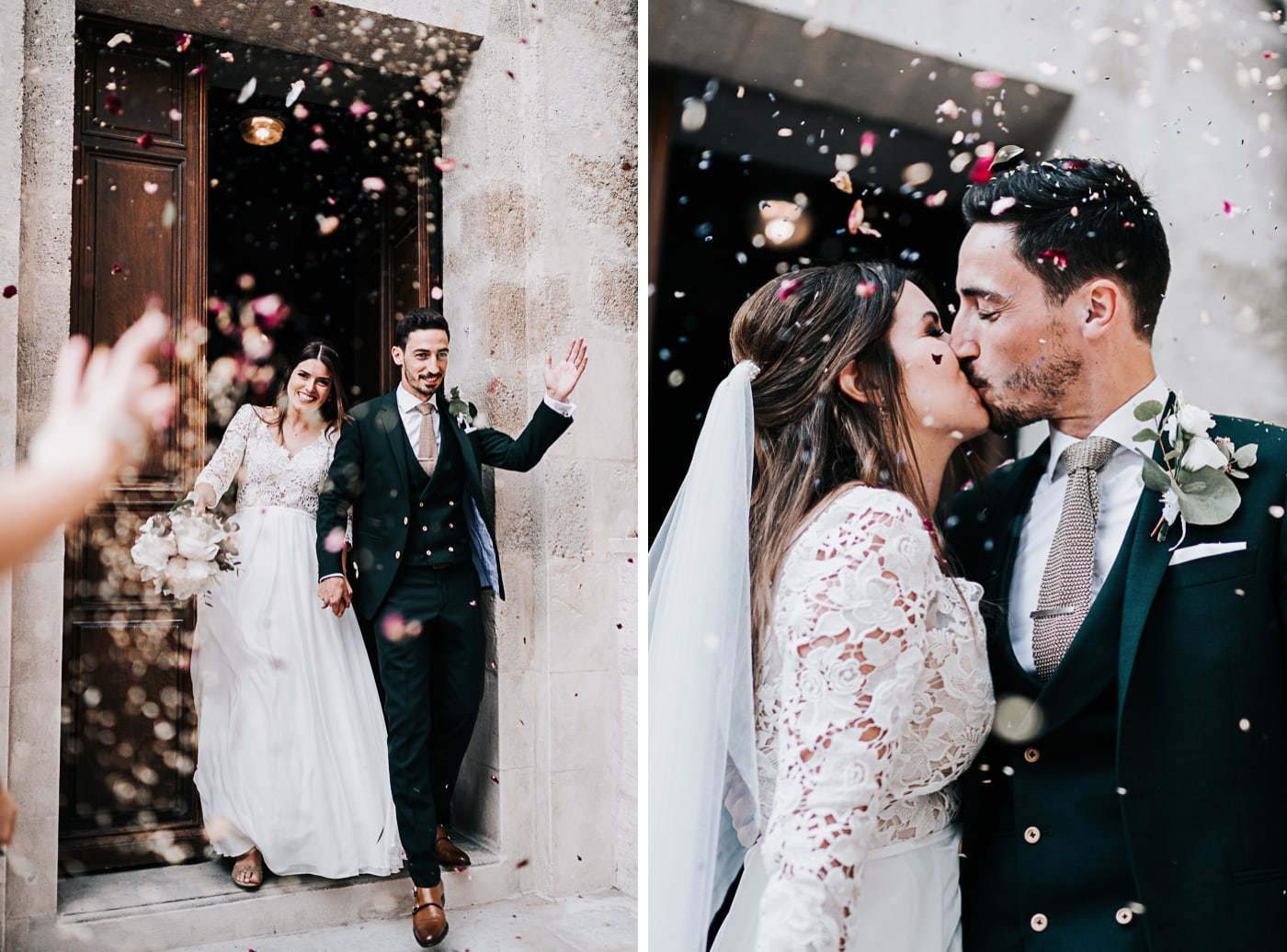 Sortie cérémonie religieuse-Jonquerette-Mariage Sophie&Paul-Domaine du Taleur-Delphine Closse