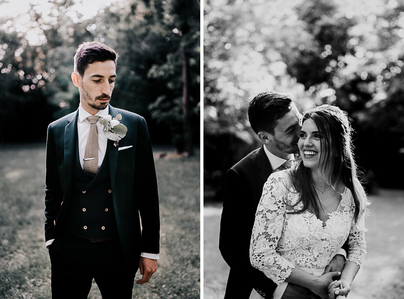 Marié et mariée-Mariage Sophie&Paul-Domaine du Taleur-Delphine Closse
